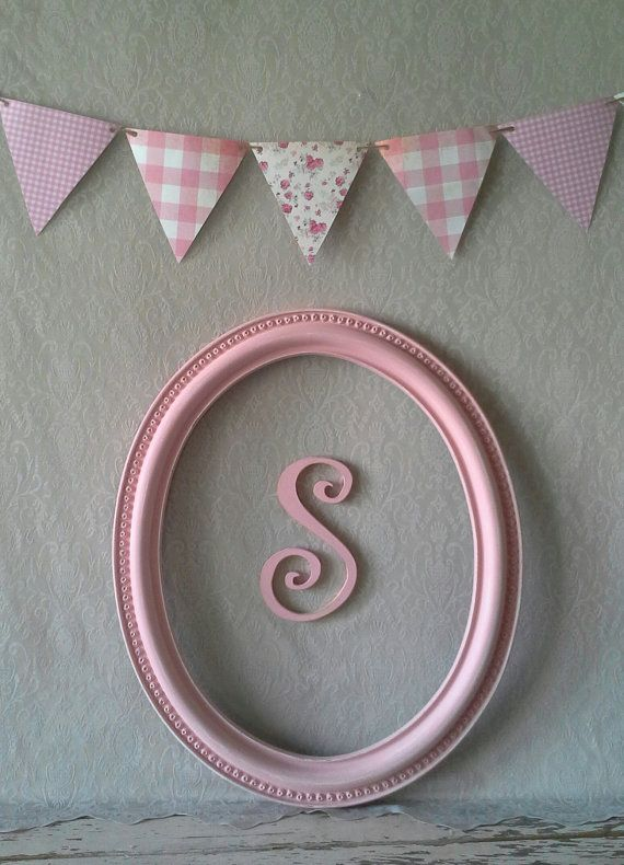 Frame Oval Vintage Pink By SavannahsCottage 3400