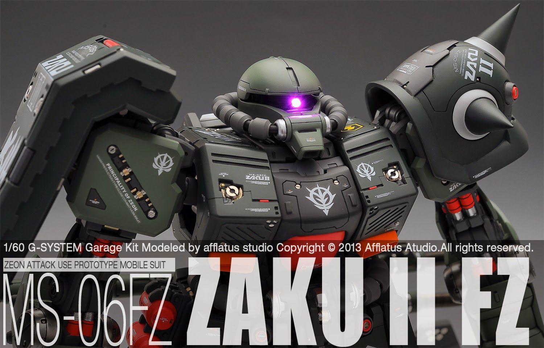 GUNDAM GUY: G-System 1/60 MS-06FZ Zaku II FZ - Painted Build