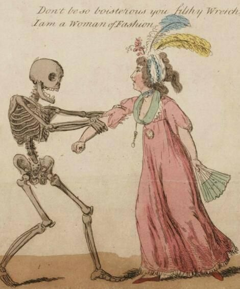 Death can be a filthy wretch but nevertheless your fashion can't save you from it.