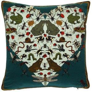 Silken Favours Amphibian Amours Cushion - 45 x 45cm