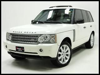 2007 Range Rover 4wd Supercharged Navigation Heated Leather Seats Alloy Wheels Cars Trucks Hatchback Cars Hybrid Car