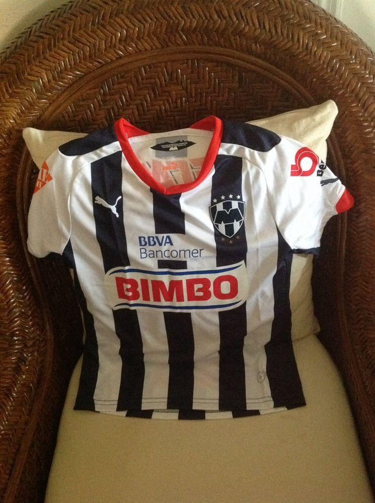 Mexico RAYADOS de Monterey puma soccer/futbol Jersey NEW