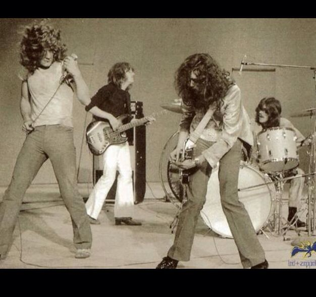 - October 25, 1968 Led Zeppelin plays their first gig together at Surrey University, England - #music #rockbands #ledzeppelin http://www.pinterest.com/TheHitman14/led-zeppelin-%2B/