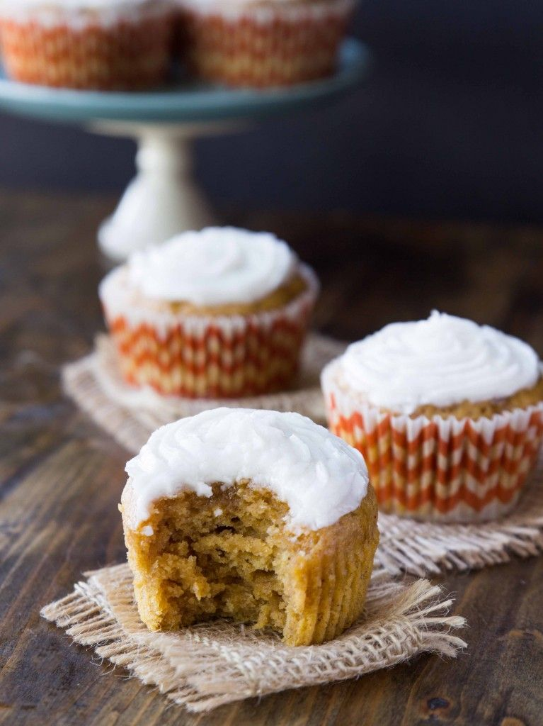 5 Crazy Good Cupcakes You Must Try How Sweet Eats Sweet Potato Cupcakes Healthy Sweets