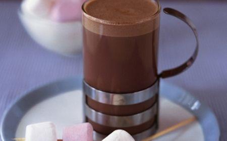 Nada melhor para esperar o inverno... chocolate quente e marshmallows