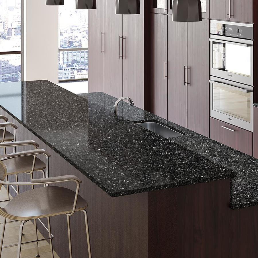 Allen + roth Ash Quartz Kitchen Countertop Sample at Lowes