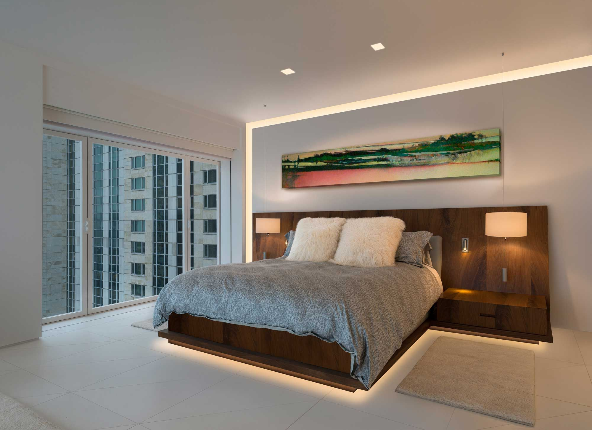 Soft Strip 2 3w Premium 24v Warm White Edge Lighting At Lightology Luxurious Bedrooms Home Contemporary Bedroom