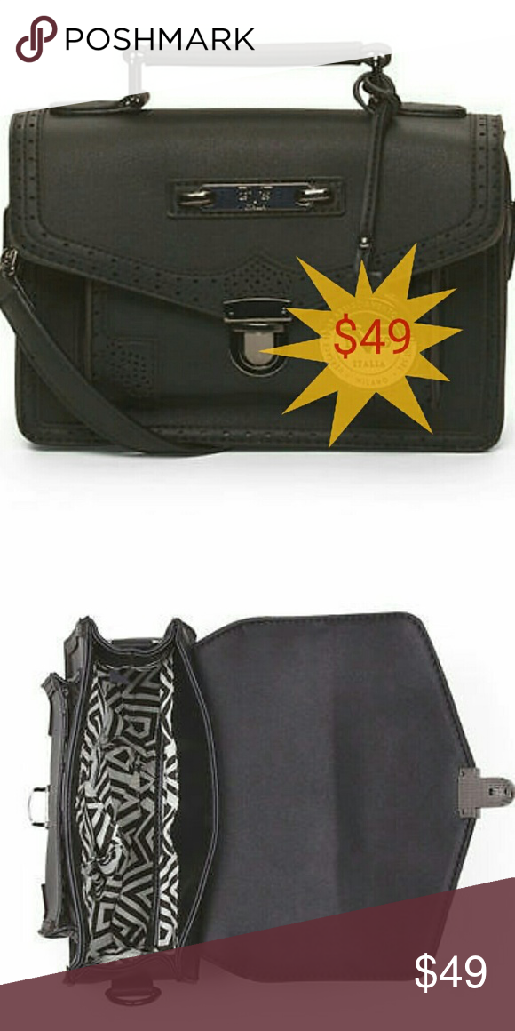 b886f9732924 ... quality design 863b9 b5a51 Versace V 1969 Italia Purse Black Small bag  with strap Versace Bags ...