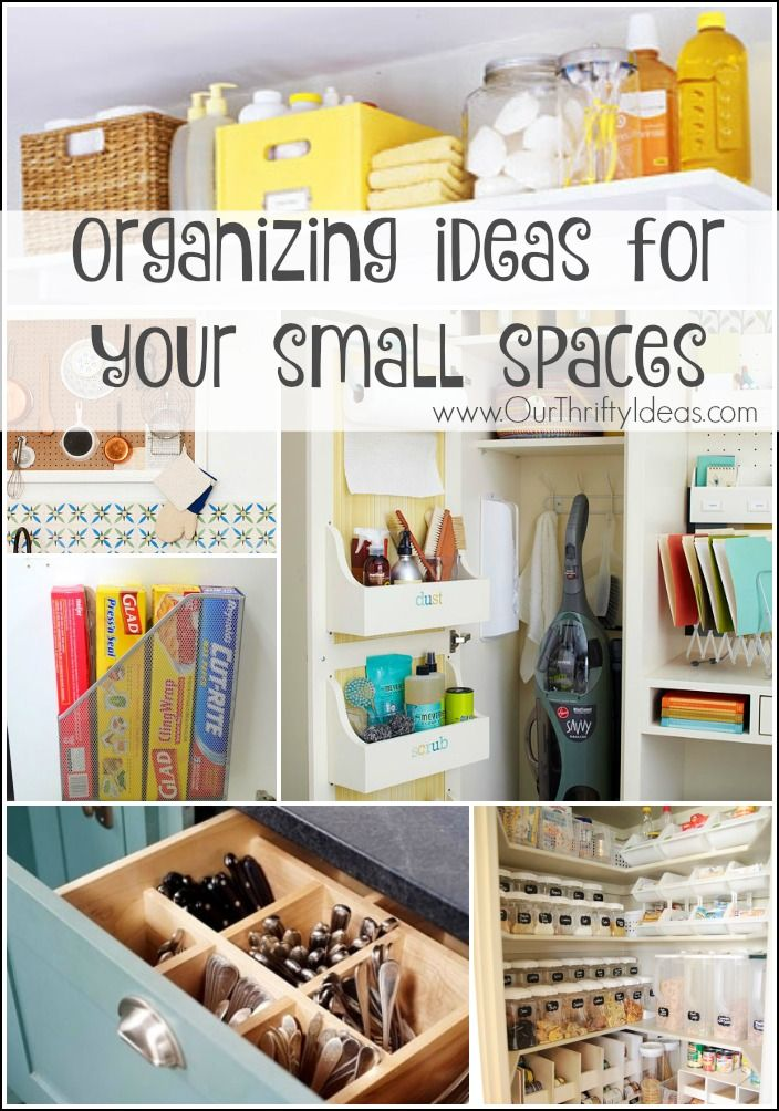these organization ideas are so clever. Most of them I never would ...