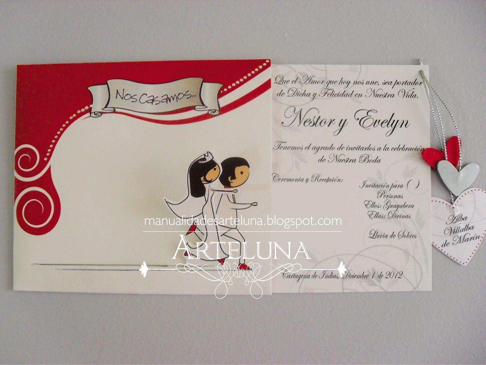 Tarjetas De Invitacion A Casamiento Virtuales Para Ver Desde