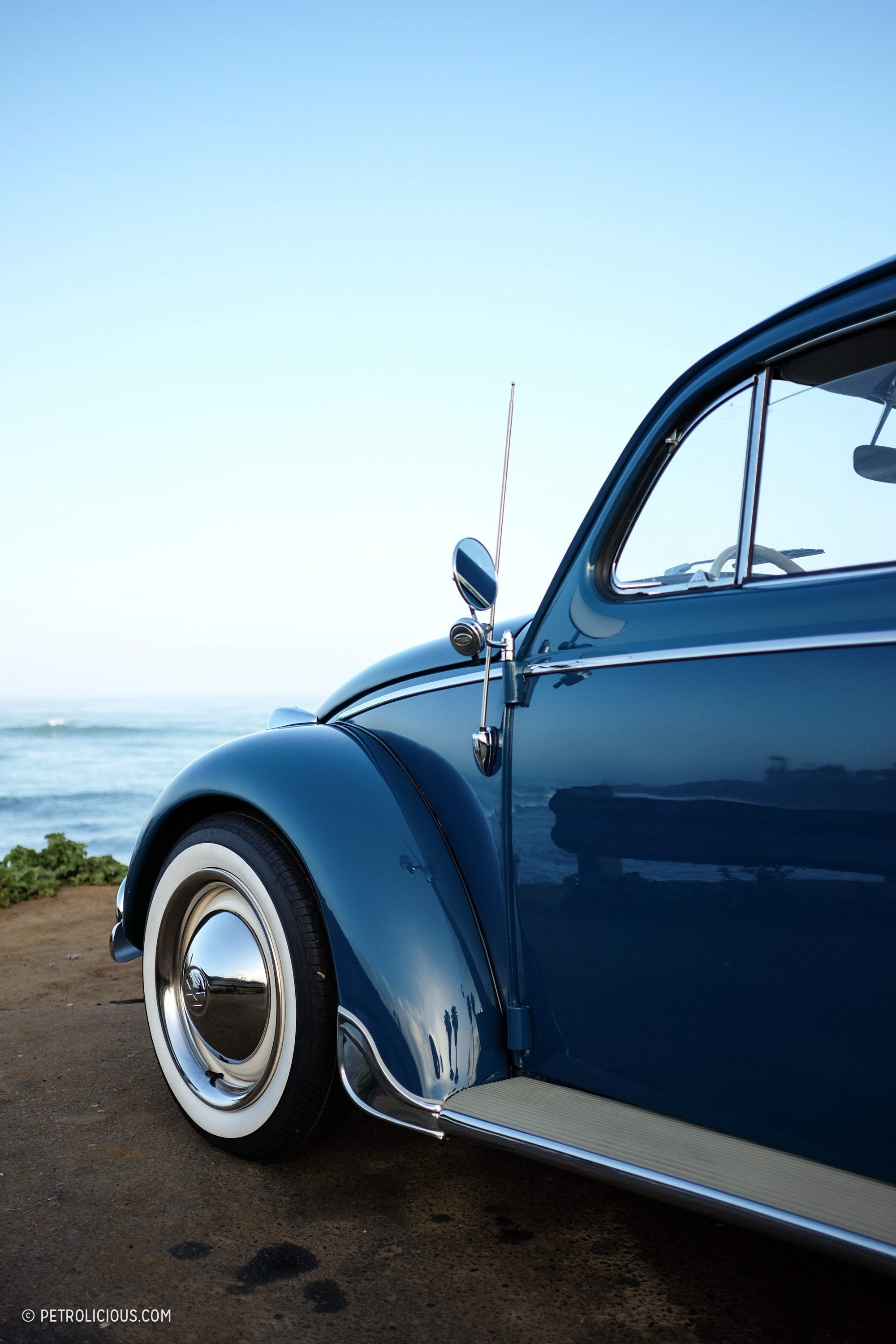 Old dog, new tricks: this VW Bug has twice the power and a 100 mile range.