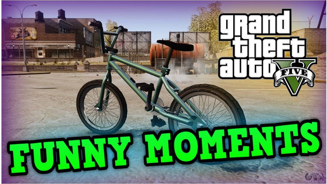 Gta 5 Bike Thumbnail Funny Moments In This Moment Funny