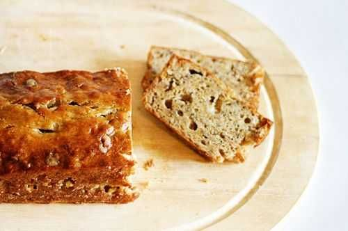 """Or, if you want to get technical, banana bread. But every time I make banana bread I think, """"Isn't this basically the ingredients for cake?""""Is it just me?Anywho... I had some pretty unrecognizable old brown banana's laying around so I figured I better make some bread now that"""