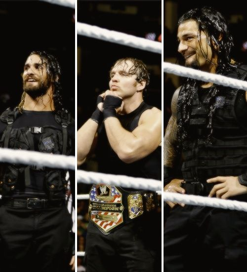 They should smile more :) Believe in The Shield!