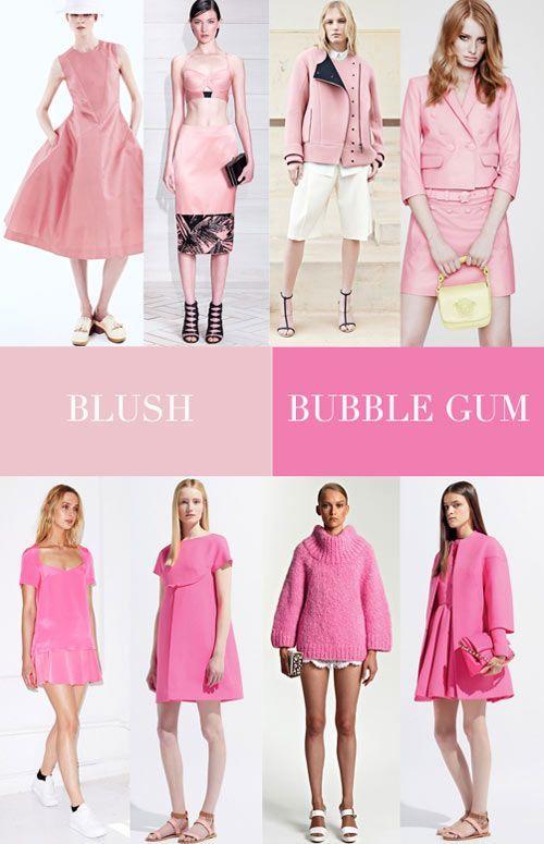 spring summer 2014 women s fashion color trends p i n k