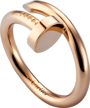 Juste un Clou ring Pink gold