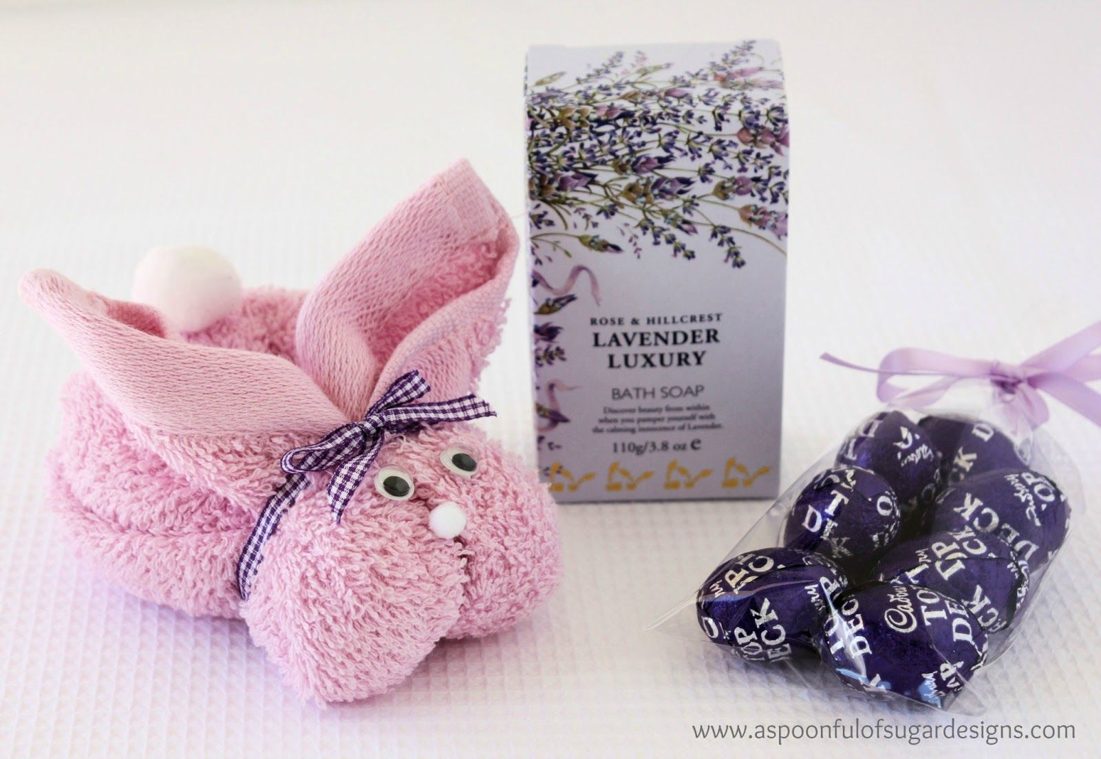 Easter gift ideas bunny fold tip towllavender luxury bath soap easter gift ideas bunny fold tip towllavender luxury bath soapperfect for the bath while company is over or giving to someone negle Image collections