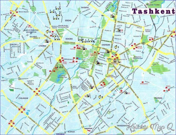 cool Tashkent Metro Map | Holidaymapq | Tourist map, Map ...