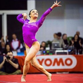 "Pin for Later: Get to Know ""Sassy"" Laurie Hernandez, Team USA's Youngest Gymnastics Star Her Floor Routines Are Also Crazy Impressive In fact, there have been murmurs that she'll be ""key in the final."""