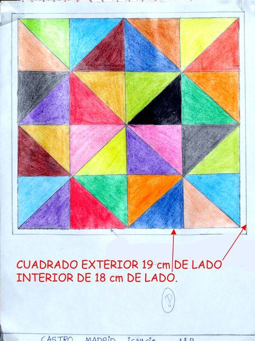 Resultado De Imagen De Dibujos Con Lineas Paralelas Y Perpendiculares Para Ninos Mosaic Contemporary Rug Decor