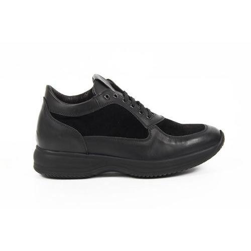 Versace 19.69 Abbigliamento Sportivo Milano mens sneakers 1010 TOKYO NERO ANIL - CAMOSCIO