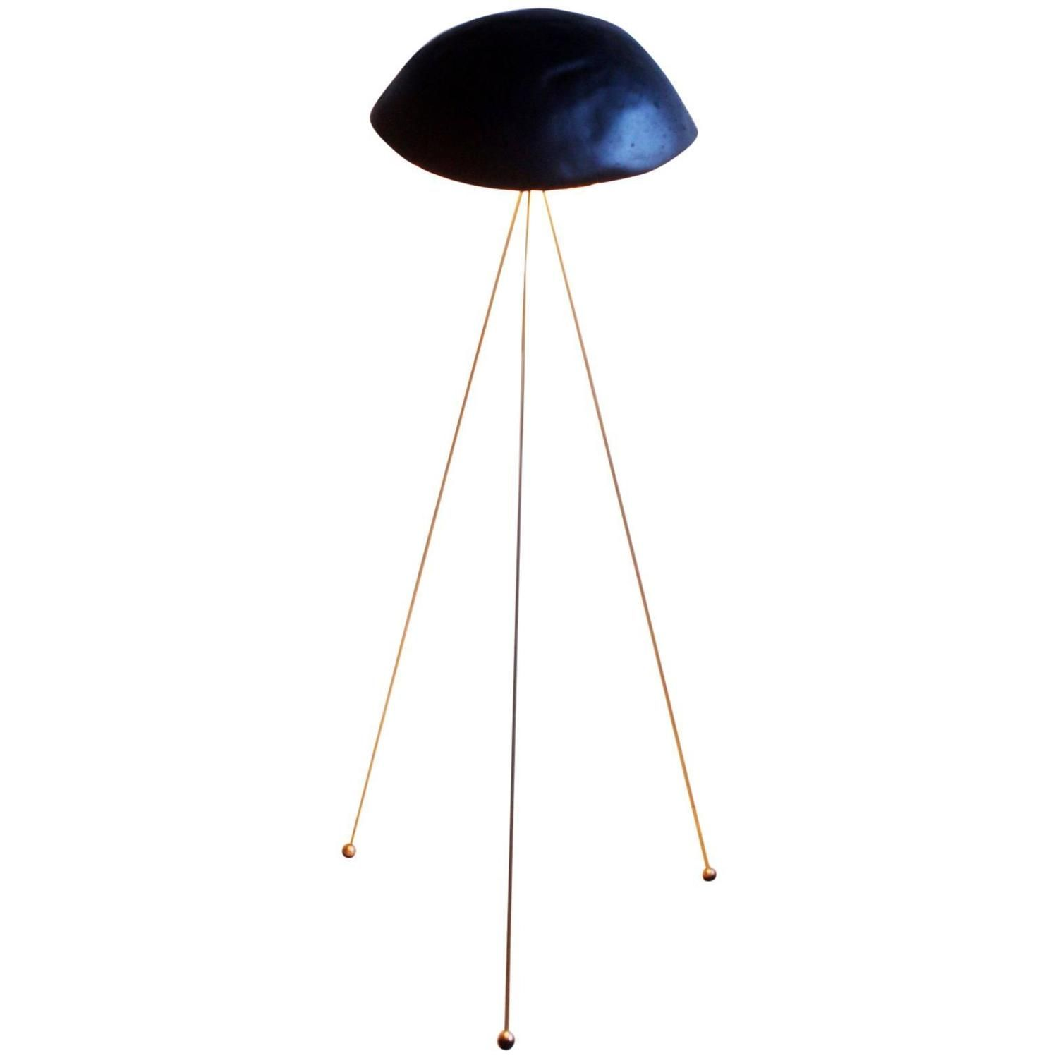 funny lamps for sale for sale on the funny buddy floor lamp has handcast irregularly domed gypsum noggin that sits three skinny long brass legs with rubberdipped concrete noggin and brass tripod legs