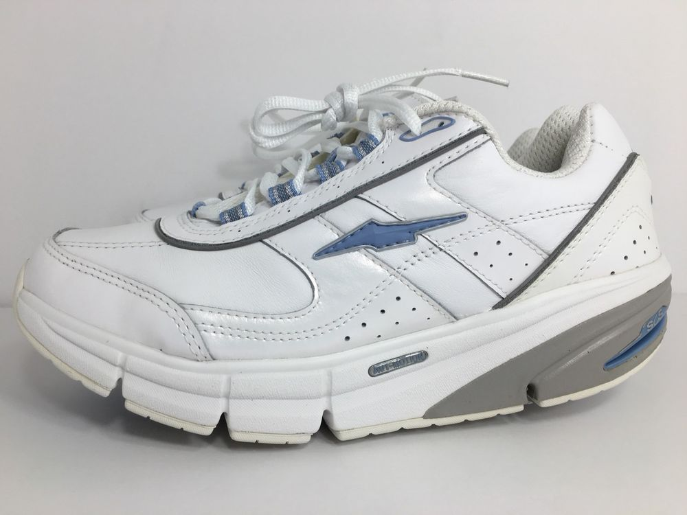 purchase cheap 2dada 745b8 Avia Women s AVI Motion A9995 White Arch Rocker Sneakers Flex Plus Active  SZ 7.5   eBay