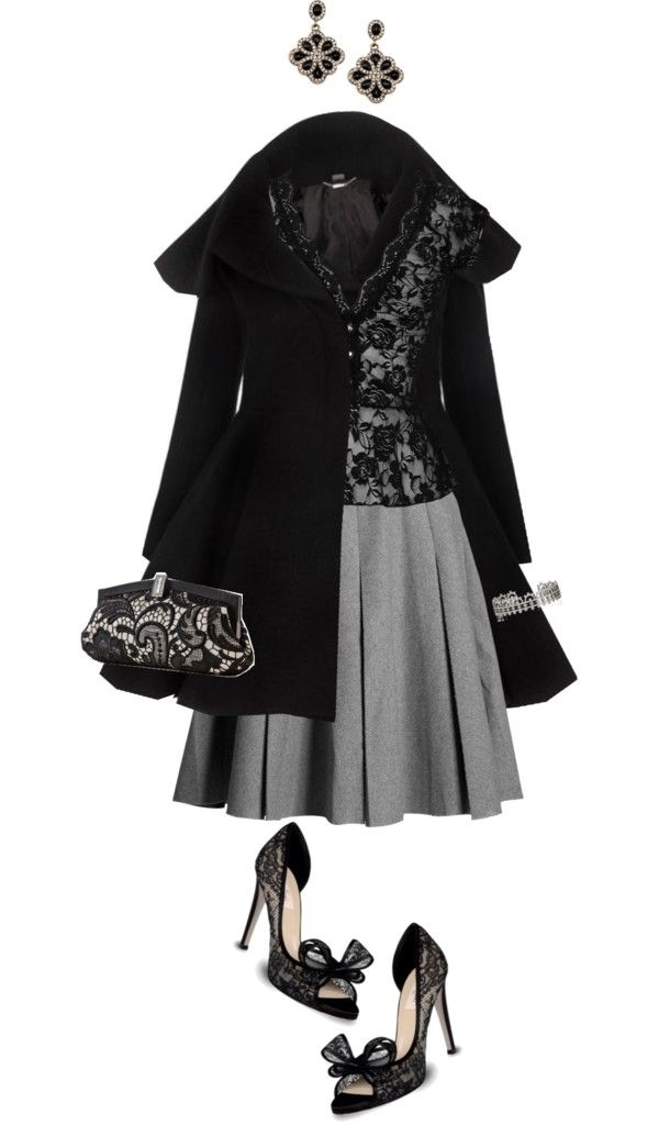 """""""Lovely Lace"""" by angela-windsor on Polyvore"""