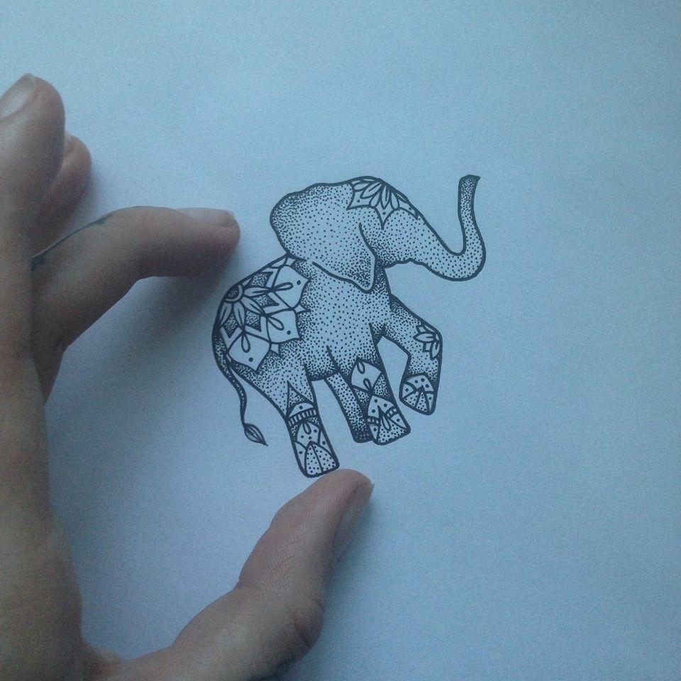 Lou Hopper Is Stunning Beautiful Stunning Tattoos: Elephant Tattoo By Medusa Lou Tattoo Artist