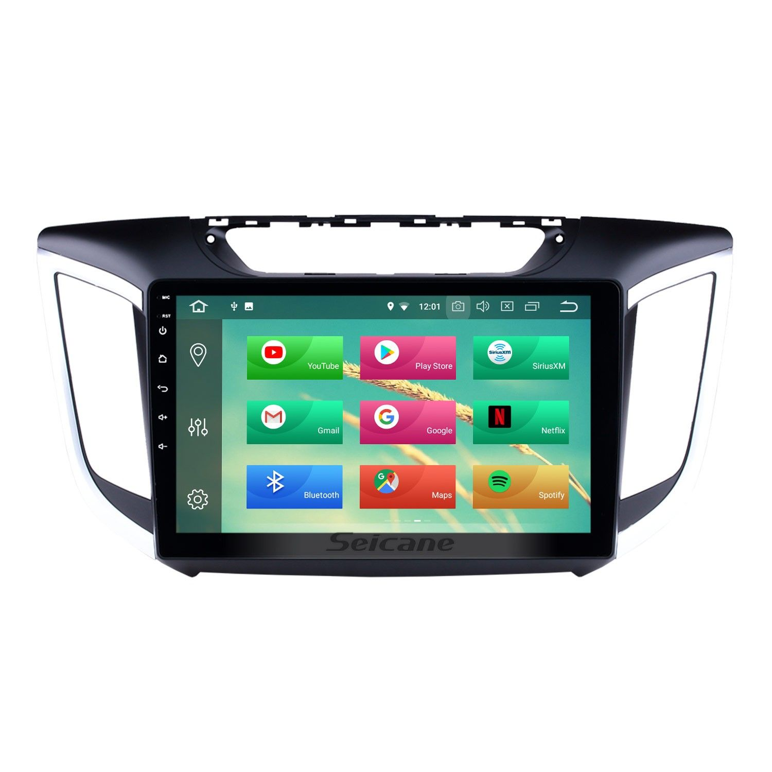 10 1 Inch Android 10 0 1024 600 Touchscreen Radio For 2014 2015 Hyundai Ix25 Creta With Bluetooth Gps Navigation 4g Wifi Steering Wheel Control Obd2 Mirror Link Gps Navigation Gps Android Car Stereo