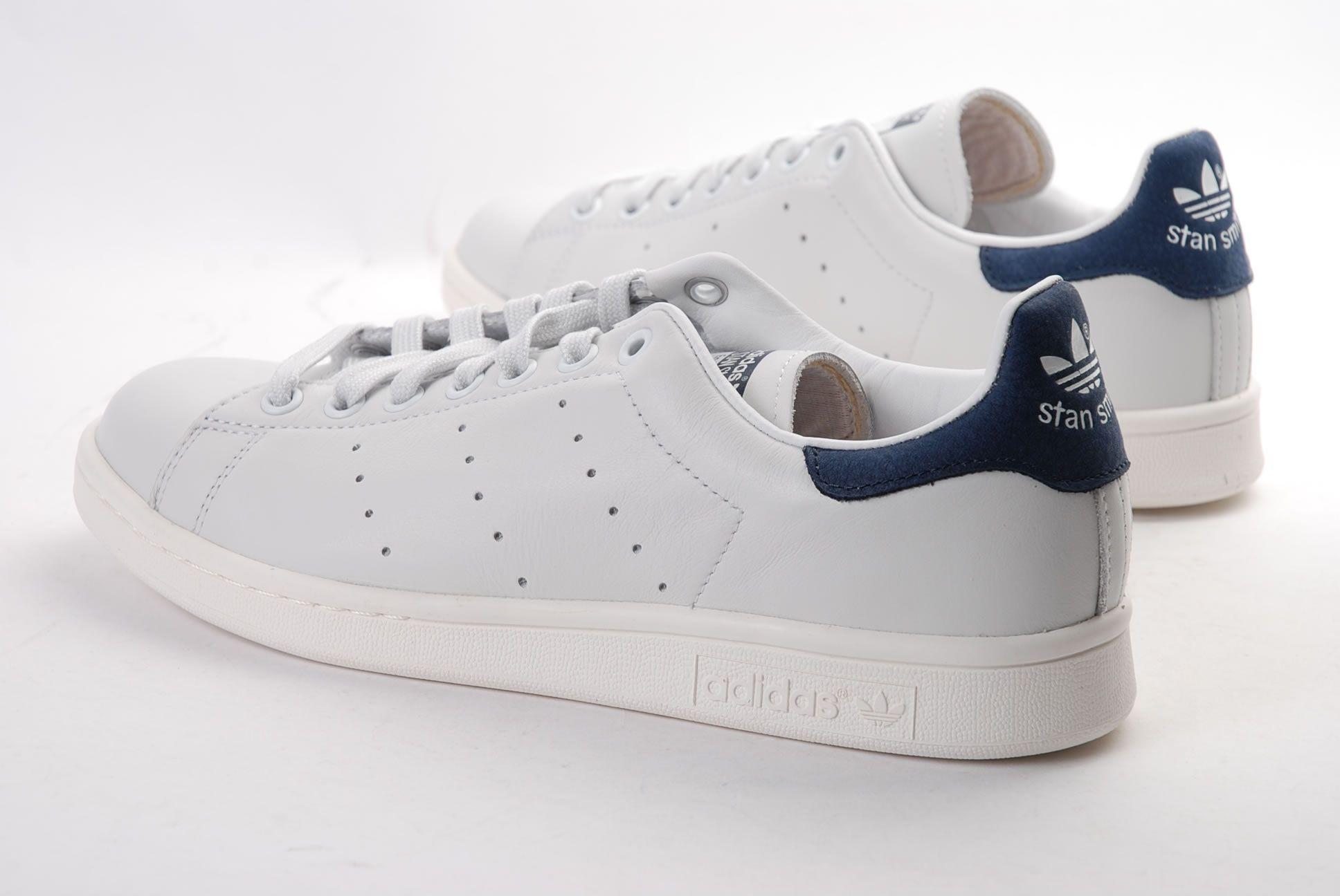 Adidas Stan Smith OG Blanc/Bleu / d67362