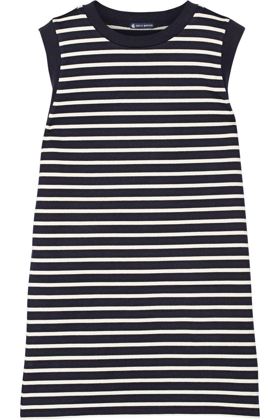 Striped cotton mini dress | Petit Bateau | 45% off | UK | THE OUTNET