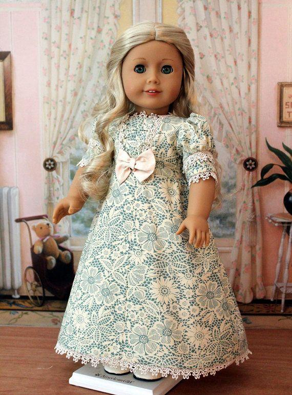 Regency Dress for Caroline or any American Girl Doll