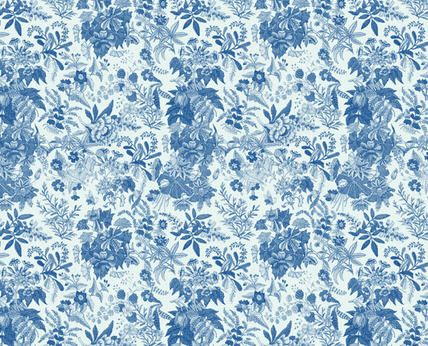 Blue Floral Wallpapers