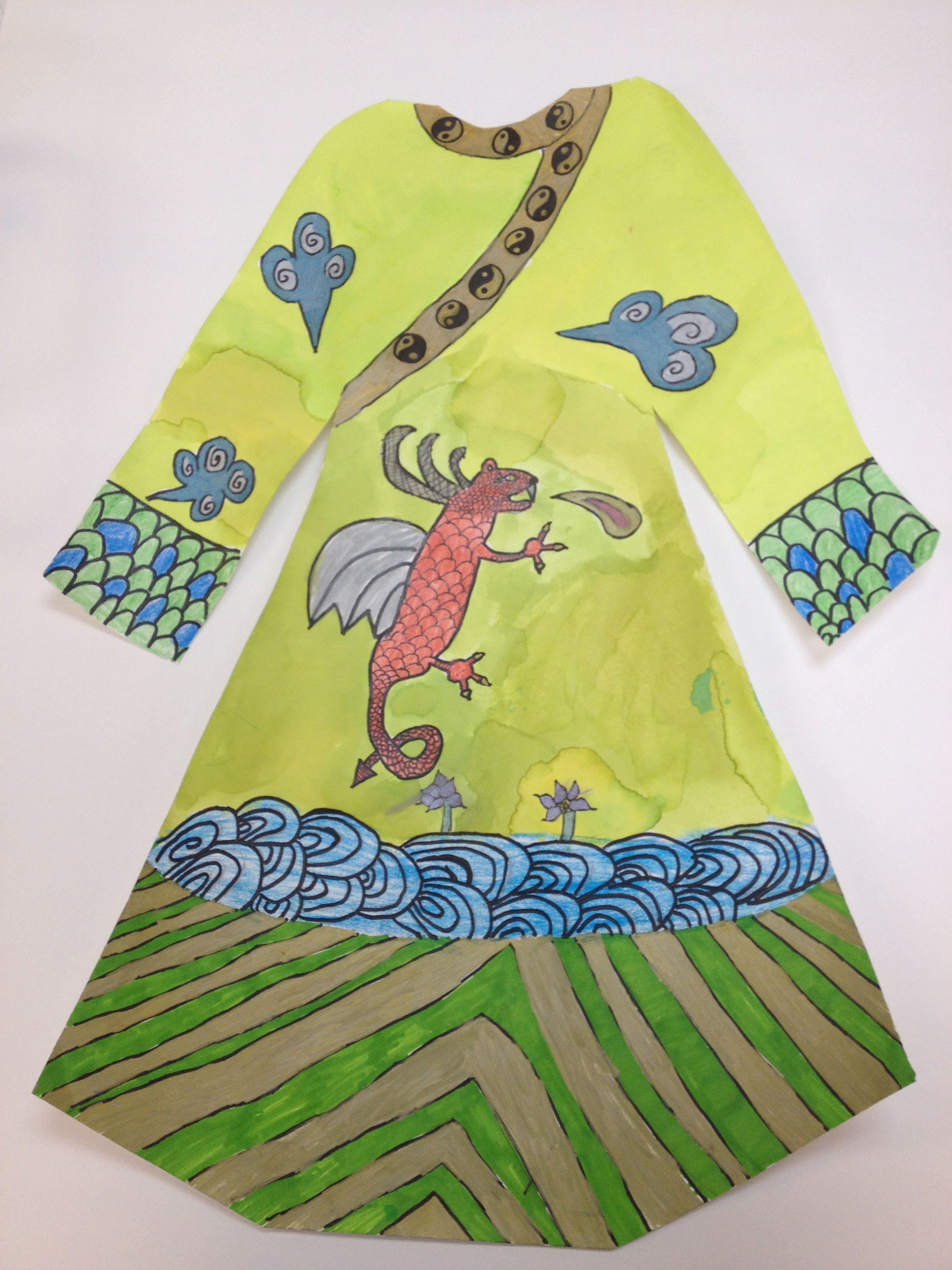 Ancient China 3rd Grade Dragon Robes