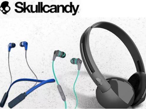 Upto 50% off on Skullcandy Headphones & Earphones