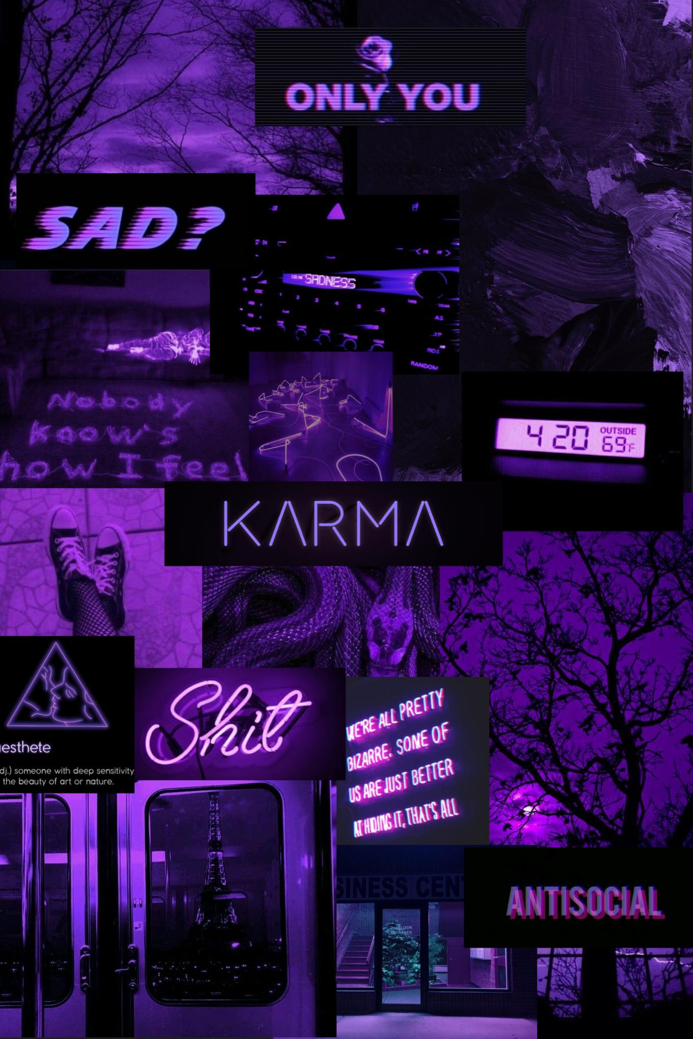 Deep Violet Purple Colour Wallpaper Dark Purple Aesthetic Black And Purple Wallpaper