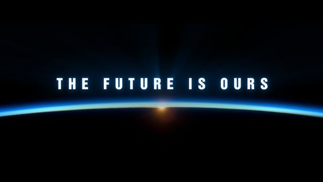 The Future is Ours by Michael Marantz.  Parce que c'est à nous de décider de quoi sera fait demain!!!