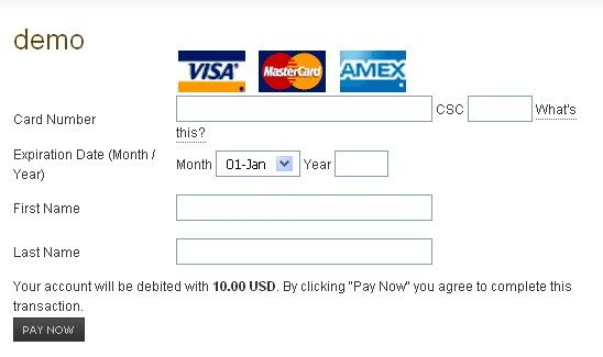 Credit Card Authorization Template Check more at