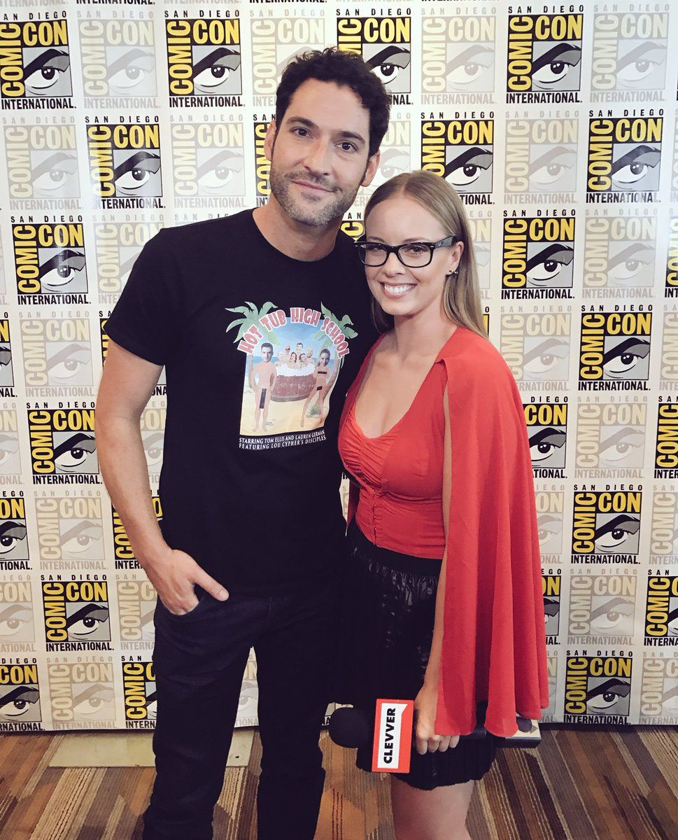 Delicious And Hot In 2019: Tom Ellis At Comic-Con 2017