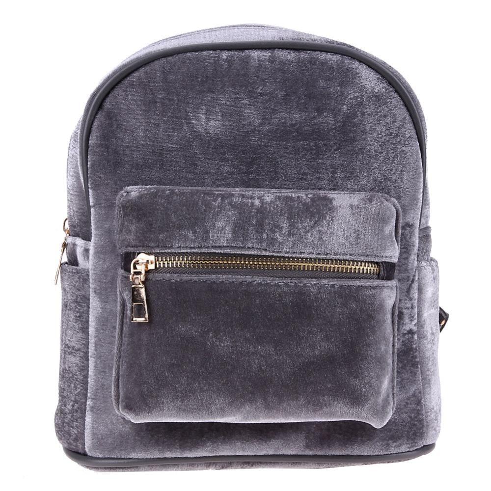 Details about Ladies Rucksack Anti theft Shoulder Bag Women Nylon Pompom Backpack Handbag