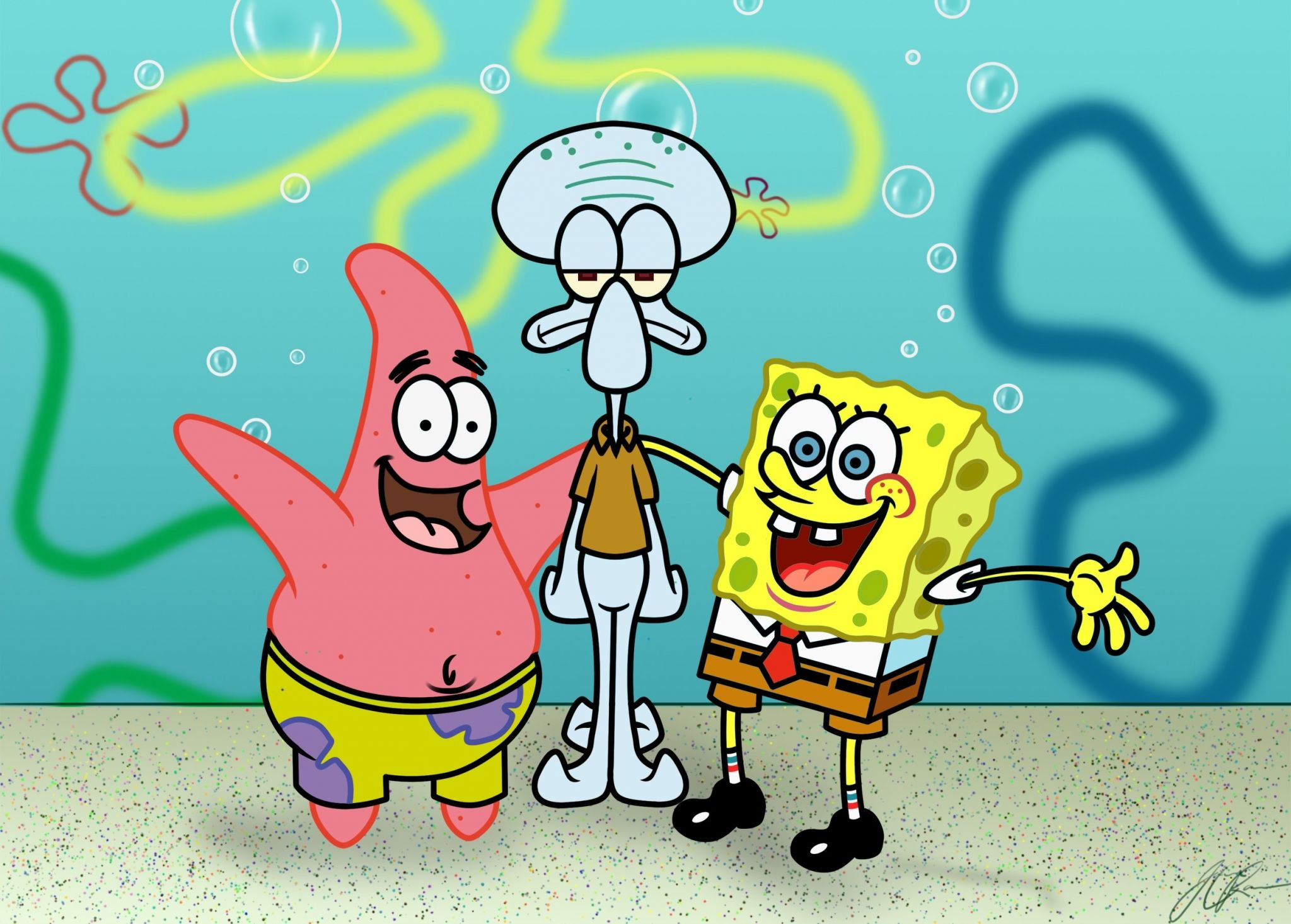 spongebob wallpaper free hd widescreen | ololoshenka | pinterest