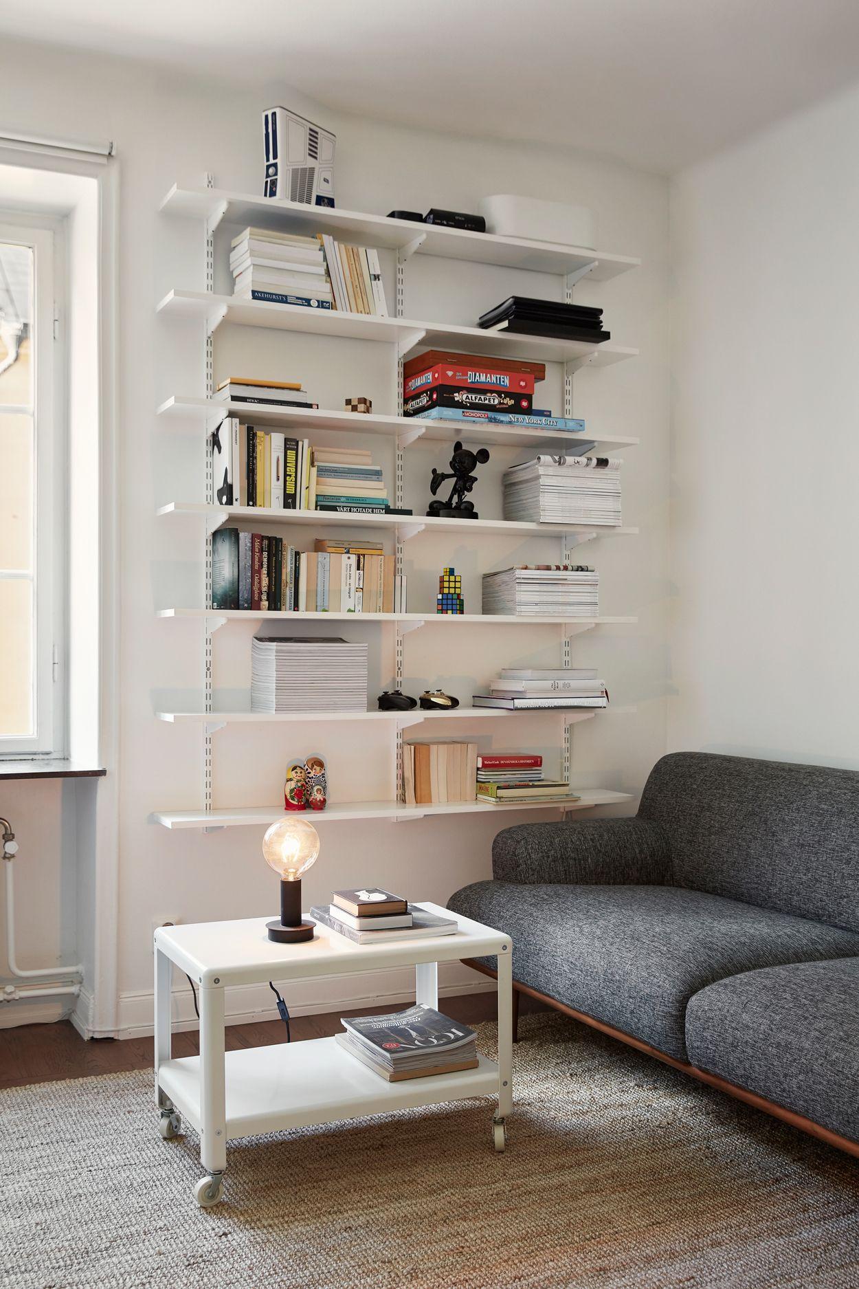 Scandinavian interior Livingroom Folkskolegatan 3