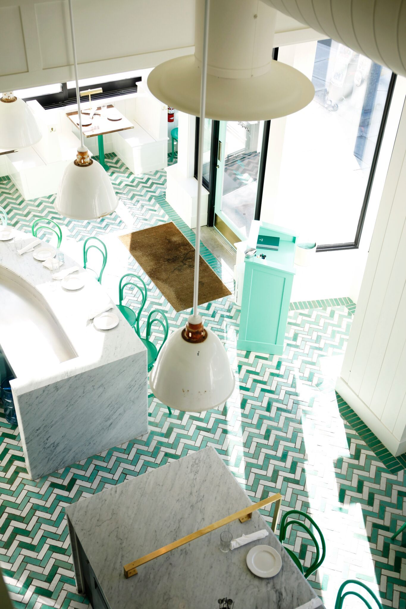 Wanderlust design bar melusine seattle restaurant - Restaurant interior design seattle ...
