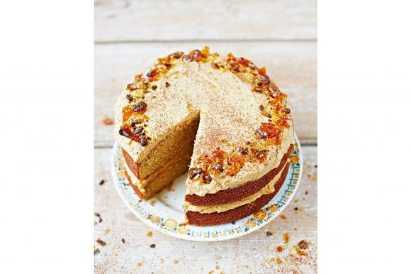 Sponge Cake Recipe Jamie Oliver: Jamie Oliver's Cappuccino Cake From The Sunday Times