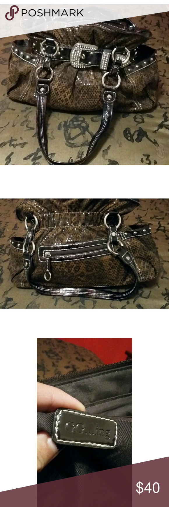 Leather Purse Gg Ing In Perfect Condition Barely Been Used Bags