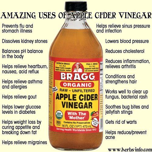 Benefits Of Drinking Raw Organic Apple Cider Vinegar