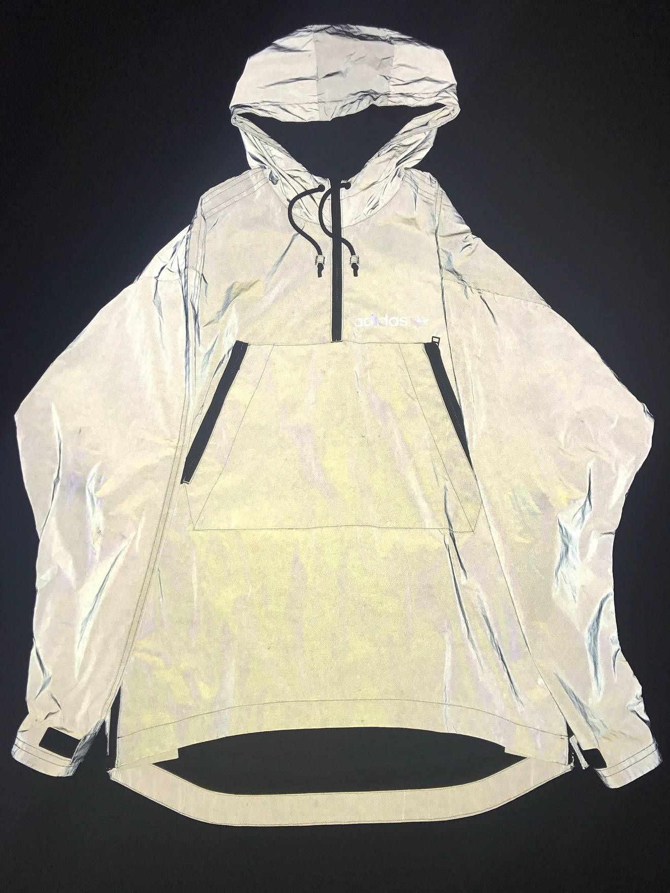 06d693646722c5 Adidas Adidas 3m Reflective Jacket Poncho M Size US M   EU 48-50   2 ...