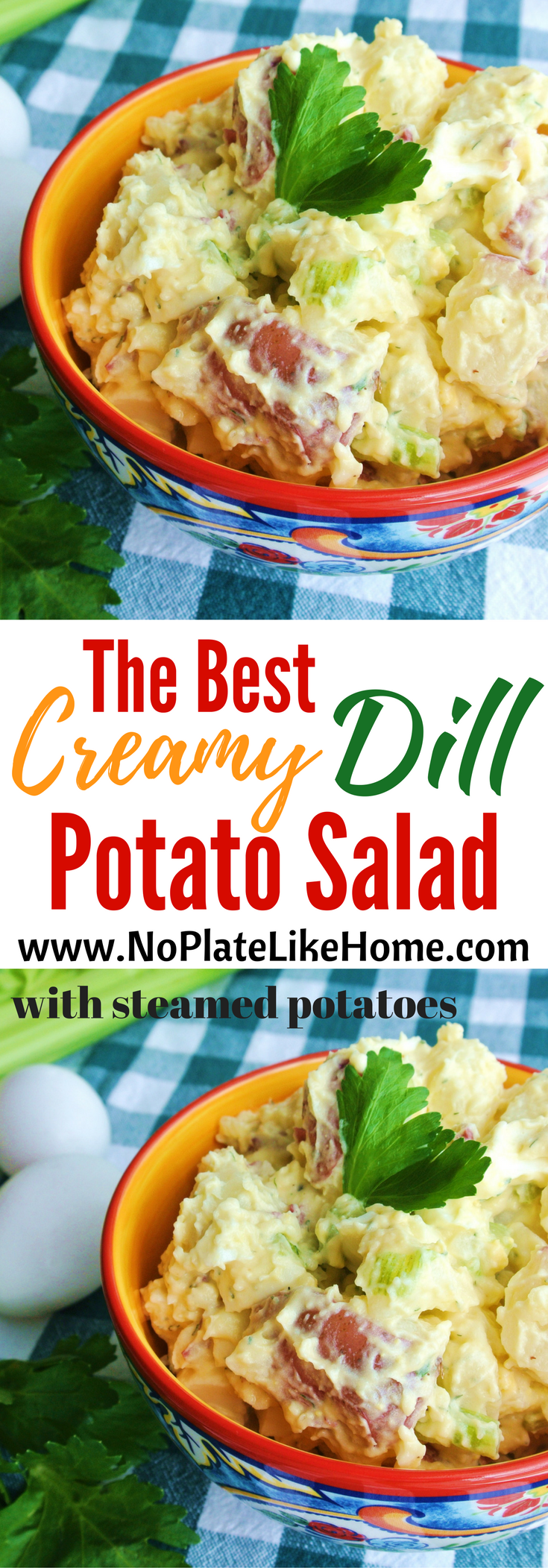Red Skin Potato Salad Recipe No Egg