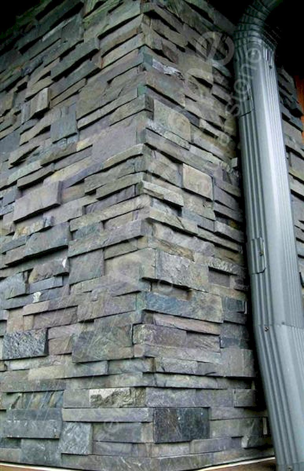 Awesome 65 Interesting Stone Veneer Wall Design